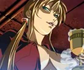 Schwarzes Shemale Anime Video, Schwarz leckende Blondine